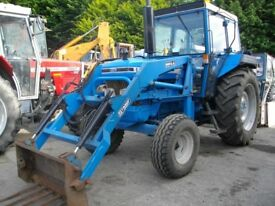 Ford 5610 with Tanco Powerloader