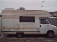 Talbot Express Motorhome Unfinished Project