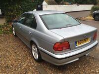 BMW 528I 2.8 Petrol Automatic 4 door saloon R Reg 14/01/1998 Silver