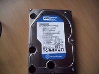 "western digital 640 GB SATA 3.5"" Desktop Hard Drive"