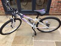 "Ladies/girls 14"" Apollo Jewel Mountain Bike!"