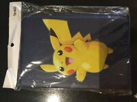 New Mini iPad case with Pokemon Pikachu design and navy back