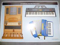 vintage instrument posters