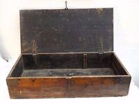 """Antique 1900's Carpenters Pine Tool Box-28 1/2""""(72.5)x 13 1/2""""(34)x 6 1/2""""(16.5)"""