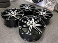 """20"""" Brand New VIPerformance Titan Alloy Wheels 5X120 PCD VW T5"""