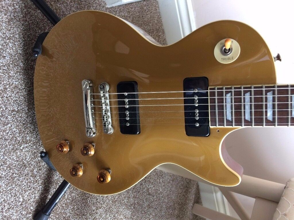 Tokai Jap Les Paul Gold Top, Bare Knuckle P90's