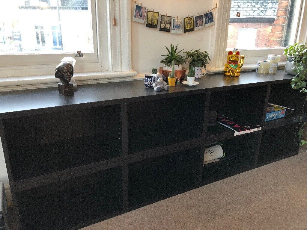 IKEA Besta Frame Shelves (black/brown) | in Didsbury, Manchester ...