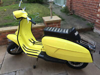 Lambretta Servetta 1981 Restored
