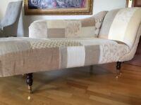 Elegant chaise lounge sofa