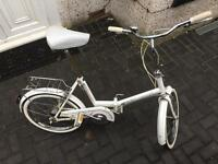 Universal 3 speed unisex adults folding bike £65