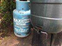 Butane 13kg gas bottle