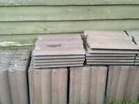 Russell Double Roman roof tiles