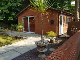 Furnished, one-bedroom, detached bungalow in Beardwood on private road