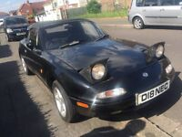 Mazda MX5 Mk 1, Special edition, 12 months MOT no leaks £1100