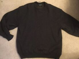 MENS AUTHENTIC GLENMUIR MERINO WOOL GOLF JUMPER