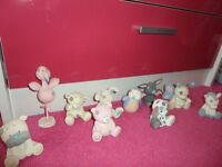 me to you tatty teddy blue nose friends figurines with boxes
