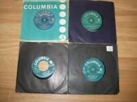 Nice Vintage Collection Of 4 Helen Shapiro 7 Inch Vinyl Records.