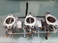 GENUINE YAMAHA OUTBOARD 70hp 2 stroke carburettors, carbs