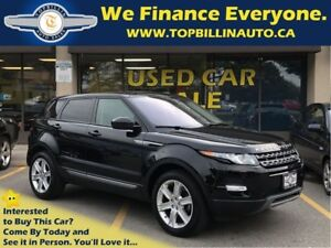 2015 Land Rover Range Rover Evoque Navigation, Sky Roof, 27K kms
