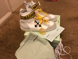 Off white trainers only worn twice £420 retail price