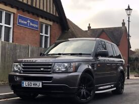 LAND ROVER RANGE ROVER SPORTS 2.7 TD V6 S! FULL SERVICE HISTORY! WHEELS IN IMMACULATE CONDITION!