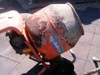 """""""Belle"""" 110V concrete mixer with stand"""