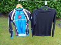 Italian made Decathlon Rockrider jersey & baselayer