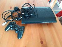 PlayStation 3, 500 GB with 12 games