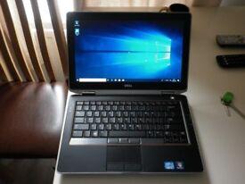 Dell latitude E6320 Laptop,Track point , 13.3 inch I7 Quad 2.8ghz 500 GB 8GB ram Win 10 pro 64 bit