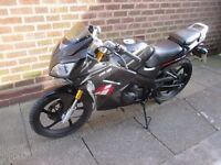 lexmoto xtrs 125 great running bike 2013 fast little thing