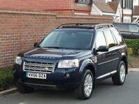Land Rover Freelander 2 HSE 3.2 Auto I6 (2006/56 Reg) + SAT NAV + PAN ROOF + 4X4 + VERY HIGH SPEC +