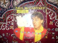 Paul McCartney & the frog chorus, Picture Disc