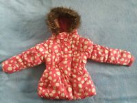 BHS girls coat for 2-3 year old