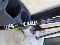 Matt hayes carp rod 2'3/4 TC lovely little 3 piece perfect for surface fishing
