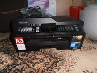 Brother A3 Printer MFC-J6510DW Prints/scans/fax