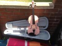 ARCHETTO 4/4 PINK VIOLIN USED BUT IN VERY GOOD CONDITION BARGAIN