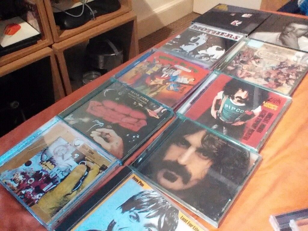 Job lot of 40 music cd's. Zappa. The Fall. Verve. Spiritualized. Supergrass. Iggy. Bowie. Cave.