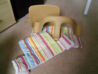 Stokke Tripp Trapp baby set and cushion