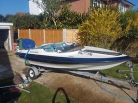 Dateline speed boat