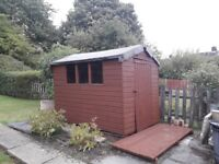 Garden Shed 8 x 6ft Apex
