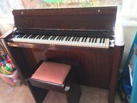 Art Deco mini piano