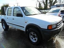 ford ranger pic up 2001 white very tidy sound jeep sold with full years mot