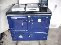 rayburn solid fuel cooker aga