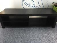 Tv/media unit. And metal decoration edging for Hearth.