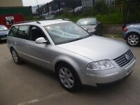 Volkswagen PASSAT TDI 4 motion,4x4 estate,FSH,full MOT,tow bar fitted,clean tidy car,runs very well