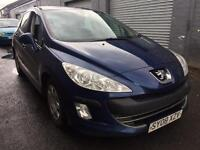 SALE! Bargain Peugeot 308 1.6 diesel, long MOT ready to go