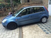 Ford Fiesta Finesse 2002plate