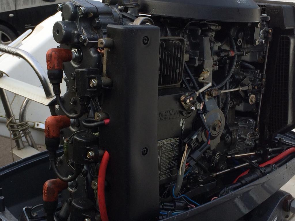 90hp Yamaha Outboard boat engine