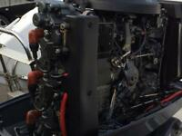 90hp Yamaha Outboard boat engine