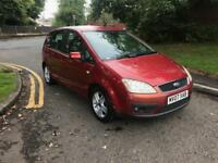 2007 FORD FOCUS C MAX 1.8L PETROL 12 MONTHS MOT FOR SALE